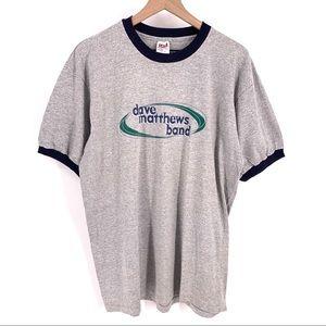 Vintage Dave Matthews Band Ringer Shirt